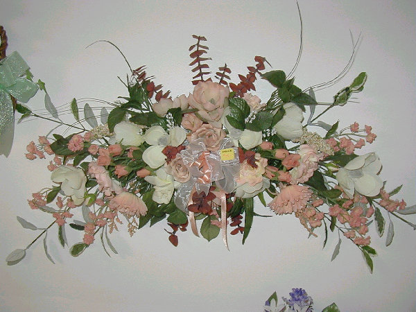 Silk flowers and custom floral wall hangers wreaths swags silk flowers silk floral arrangements wall hangings baskets interior decorations mightylinksfo Choice Image